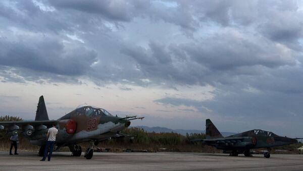 Su-25. Lattaquié. Syrie. - Sputnik France