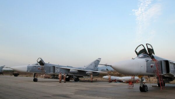 Su-24 russes. Lattaquié. Syrie. - Sputnik France