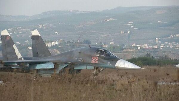 Syrie: les forces aériennes russes ciblent les bases de l'EI - Sputnik France