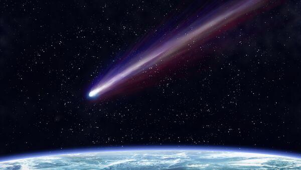 Комета около Земли - Sputnik France