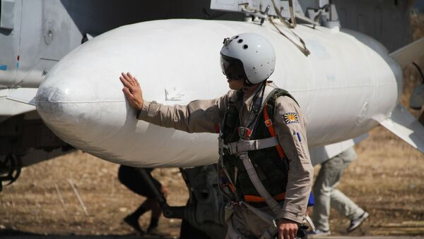 Préparation d'un vol depuis la base aérienne de Hmeimim en Syrie - Sputnik France