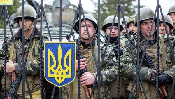 Les soldats ukrainiens - Sputnik France