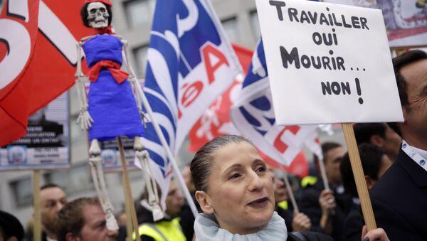 grève des employés d`Air France - Sputnik France