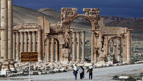 L'Arc de Triomphe de Palmyre - Sputnik France