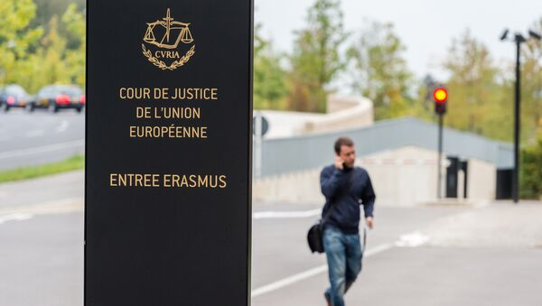 La Cour de justice de l'Union européenne (CJUE)   - Sputnik France