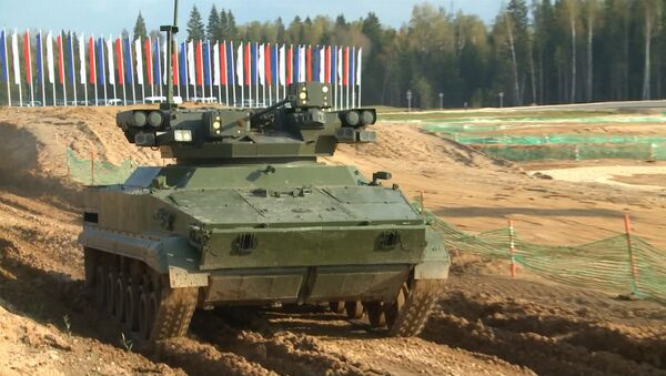 Des robots de combat testés en Russie - Sputnik France