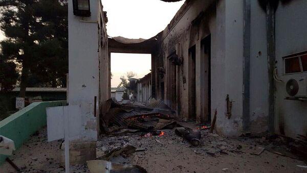 Hôpital de MSF à Kunduz détruit lors du bombardement le 3 octobre dernier - Sputnik France