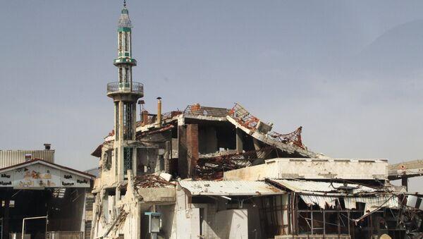 Syrie, Homs, mosquée détruite. Archive photo - Sputnik France