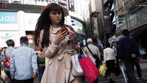 Une jeune fille. Tokyo. Image d'illustration - Sputnik France
