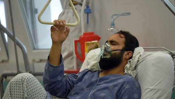 Kabul. Un survivant blessé pendant le bombardement de l'hôpital de MSF à Kunduz en Afghanistan - Sputnik France
