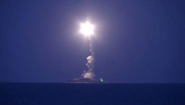 La Marine russe frappe l'Etat islamique depuis la mer Caspienne - Sputnik France