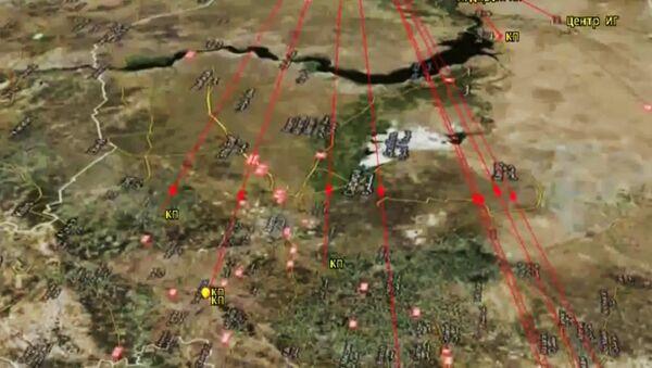 La Flottille russe de la Caspienne attaque l'EI en Syrie - Sputnik France