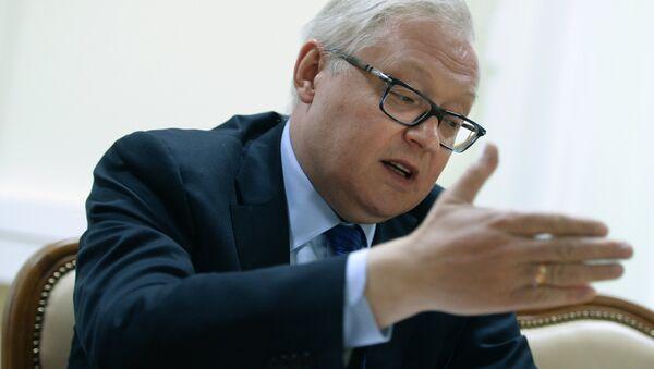 Russian Deputy Foreign Minister Sergei Ryabkov gives interview - Sputnik France