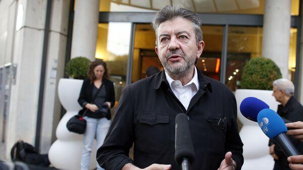 Le responsable du Parti de gauche Jean-Luc Mélenchon - Sputnik France