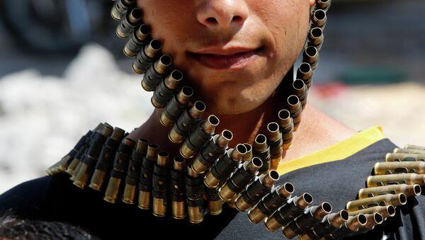 Сombattant de l'opposition syrienne. Image d'Illustration - Sputnik France