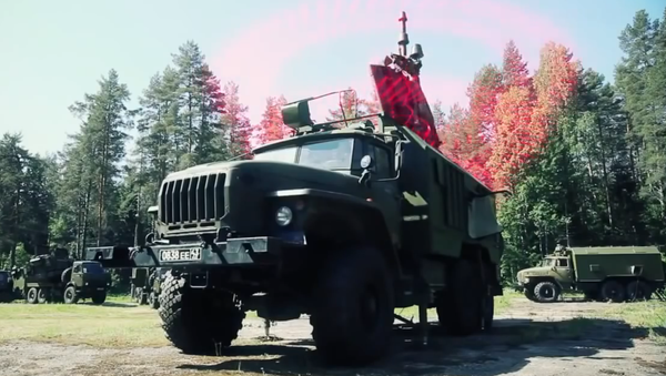 Сomplexe mobile de guerre électronique Krassoukha-4 - Sputnik France