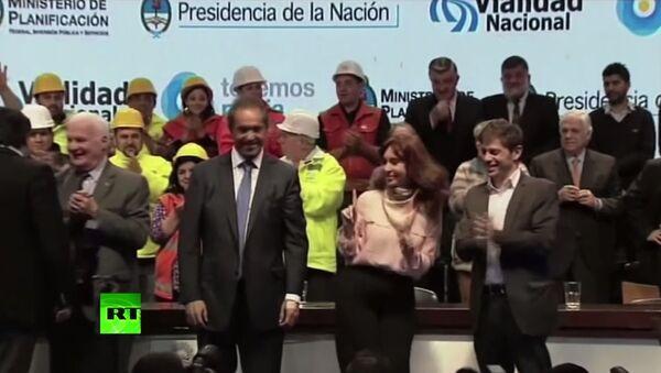La présidente argentine se lâche sur scène - Sputnik France
