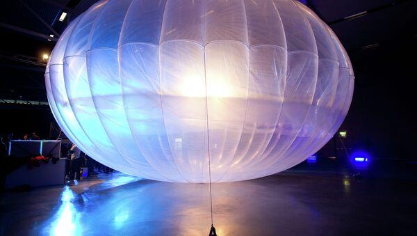 Un ballon du projet Loon de Google - Sputnik France