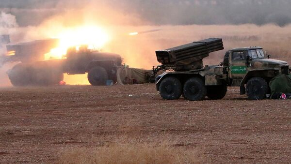 Syrian army takes offensive against ISIS militants in the north of Hama Governorate - Sputnik France