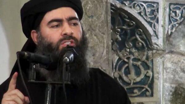 Le numéro un de Daech, Abou Bakr al-Baghdadi - Sputnik France