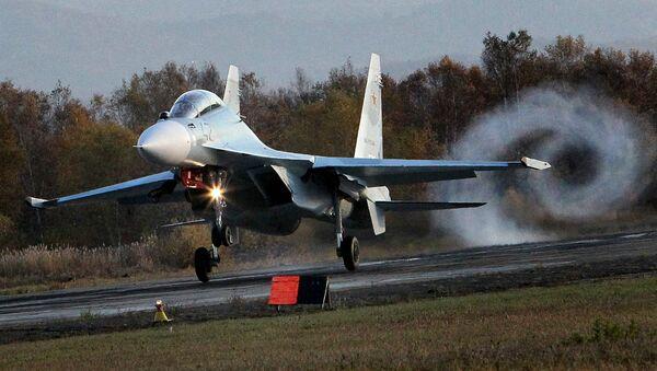 l'avion de combat russe Su-30SM - Sputnik France