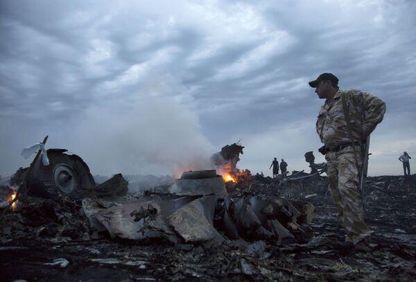 Crash du Boeing malaisien en Ukraine: diaporama de la tragédie - Sputnik France
