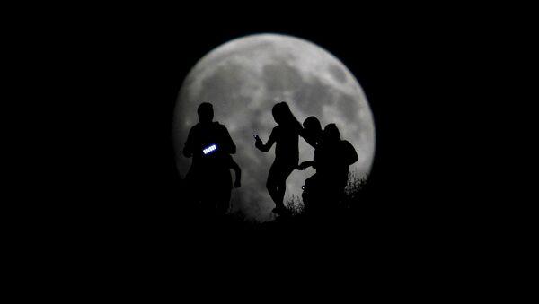 Super lune au Mexique - Sputnik France