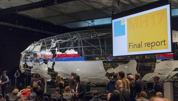 La commission néerlandaise présente son rapport sur le crash du vol MH17 - Sputnik France