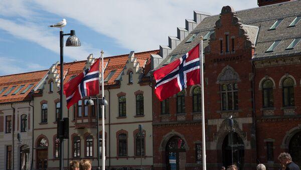 Drapeaux de la Norvège - Sputnik France