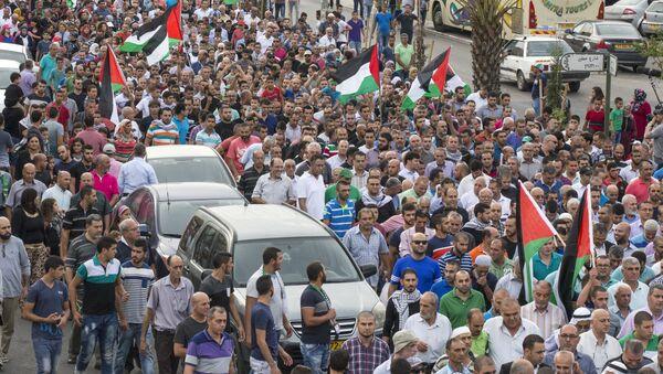 Des milliers d'Arabes israéliens rassemblés en solidarité avec les Palestiniens - Sputnik France