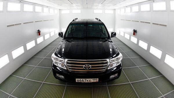 Презентация нового многофункционального комплекса ООО Тойота Мотор - Sputnik France