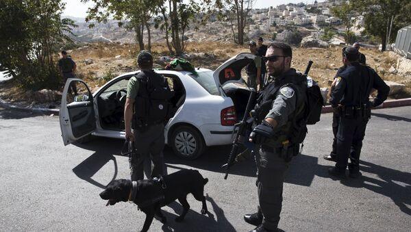 Police israélienne, Oct. 14, 2015 - Sputnik France