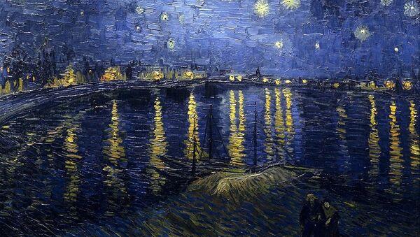 Vincent van Gogh, Nuit étoilée sur le Rhône (1888) - Sputnik France