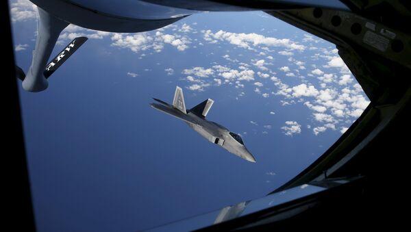 A F-22 Raptor fighter - Sputnik France