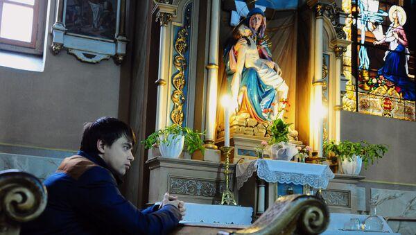 Eglise catholique. Image d'illustration - Sputnik France