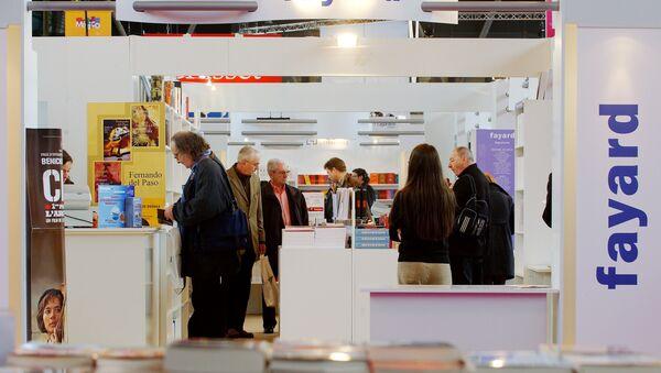 La maison d'édition française Fayard, Book Fair, Paris. Archive photo - Sputnik France