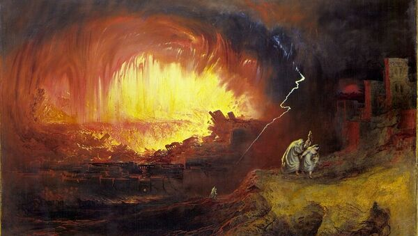 Sodome et Gomorrhe de John Martin, 1852 - Sputnik France
