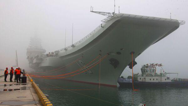 Le porte-avion chinois Liaoning - Sputnik France