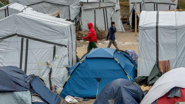 Camp de migrants à Calais, Oct. 7, 2015 - Sputnik France
