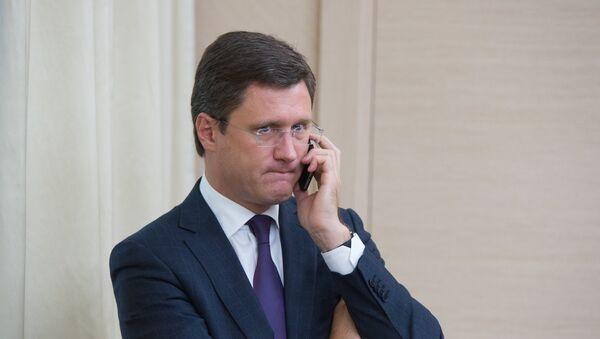 Le ministre russe de l'Energie Alexandre Novak. Archive photo - Sputnik France