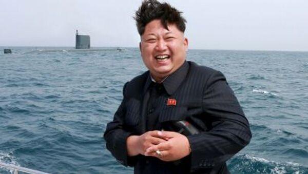 Le dirigeant nord-coréen Kim Jong-Un - Sputnik France