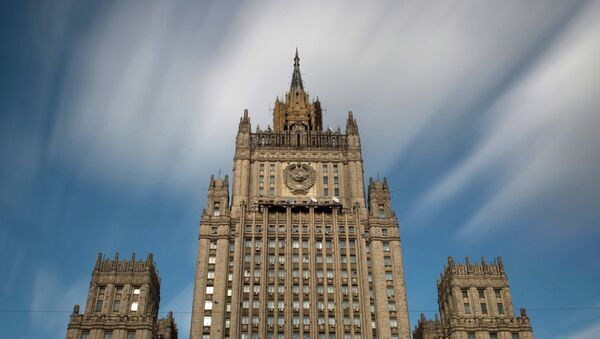 Le bâtiment du ministère des Affaires étrangères de Russie - Sputnik France