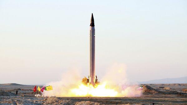 Missile balistique iranien Emad - Sputnik France