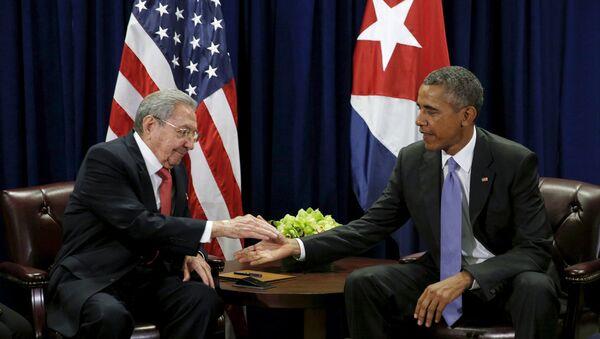 Raúl Castro et Barack Obama - Sputnik France