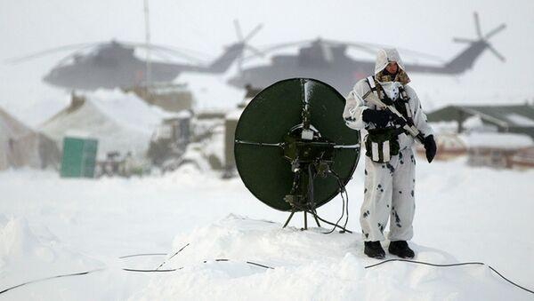Base militaire russe sur l'île Kotelny - Sputnik France