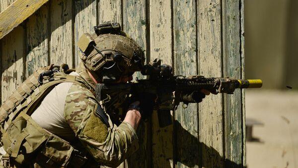 Un membre des  forces spéciales de l'armée américaine. Image d'illustration - Sputnik France