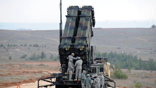 Missiles antimissiles américains Patriot - Sputnik France