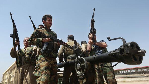 Combattans kurdes - Sputnik France