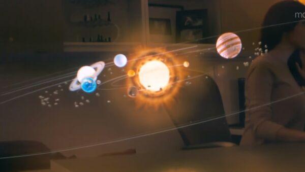 Le système solaire en réalité augmentée - Sputnik France