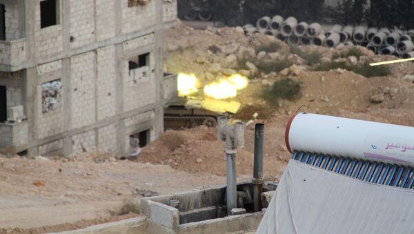 L'opération spéciale de l'armée syrienne à Harasta - Sputnik France